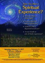 Have You Had a Spiritual Experience? Bakersfield